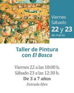 TALLER PINTURA EL BOSCO