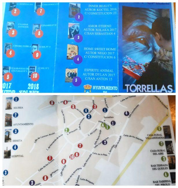 Mapa del arte urbano de Torrellas