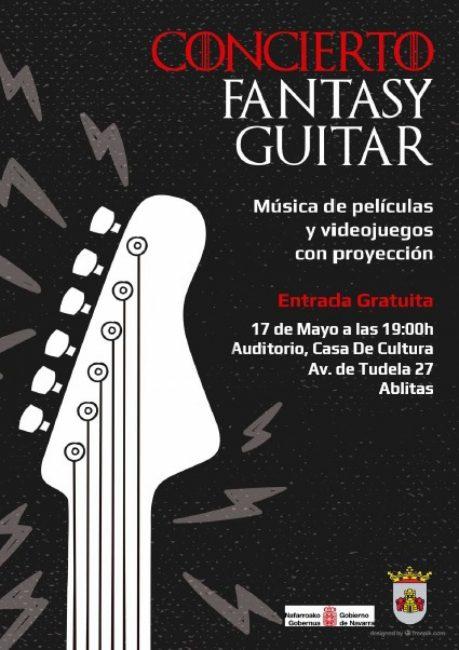 Cartel concierto Fantasy Guitar