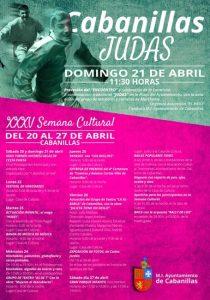 JUDAS Y SEMANA CULTURAL CABANILLAS