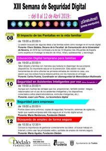 Cartel Semana Seguridad Fundación Dédalo