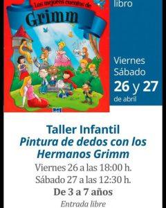 TALLER PINTURA DE DEDOS HERMANOS GRIMM
