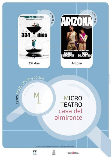 Cartel Microteatro Tudela 2019