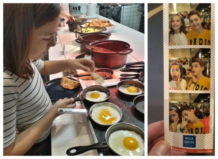 Viajar a Paris con adolescentes desayuno