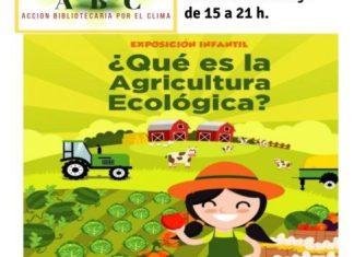 Exposición sobre agricultura ecológica en la Biblioteca de Cintruénigo
