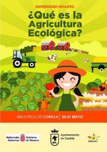 Exposición sobre agricultura ecológica en Corella