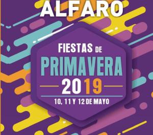 Fiestas de primavera 2019 en Alfaro en honor a San Isidro