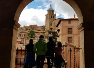 Albarracín desde la plaza mayor