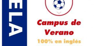 Cartel Campus inglés fútbol