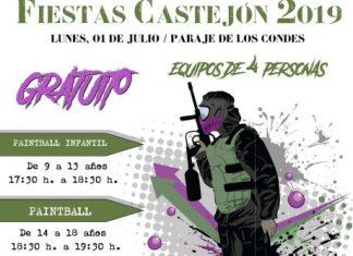 PAINTBALL FIESTAS CASTEJÓN 2019