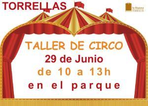 TALLER DE CIRCO EN TORRELLAS