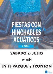 FIESTA CON HINCHABLES ACUÁTICOS 2019 TORRELLAS