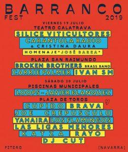 Cartel Barranco Fest 2019