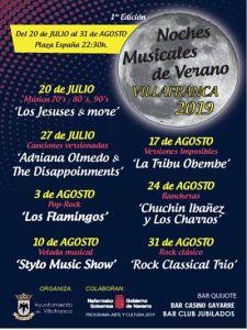 noches musicales de verano, Villafranca