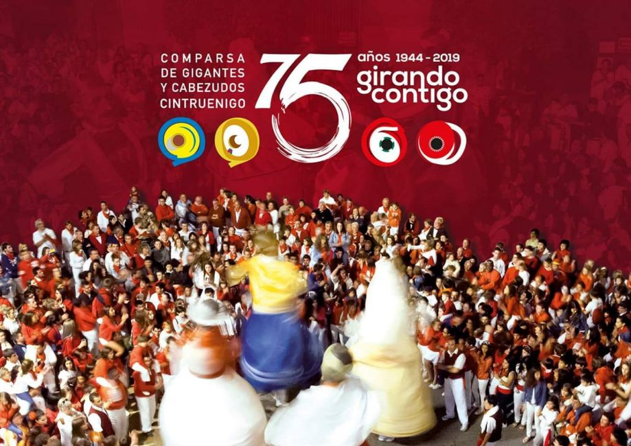75 AÑOS GIRANDO CONTIGO CINTRUÉNIGO
