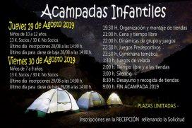 ACAMPADAS INFANTILES SDR ARENAS TUDELA