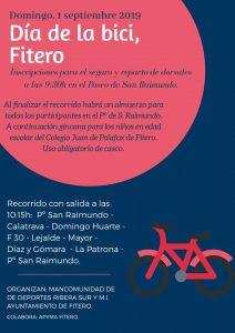 Día de la bici 2019 en Fitero