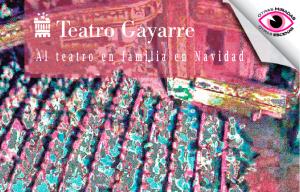 Cartel Navidad 2019 Teatro Gayarre