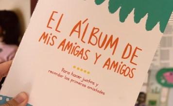 libros regalo álbum mis amigos