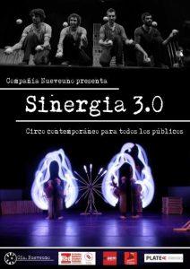 Sinergia, circo contemporáneo en Ribaforada