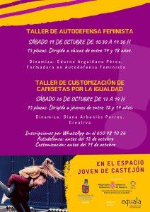 TALLERES OCTUBRE ESPACIO JOVEN CASTEJÓN
