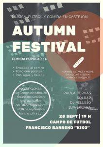 autumn festival Castejón