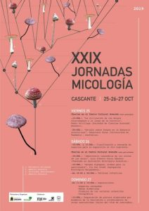 Jornadas de micología 2019 en Cascante