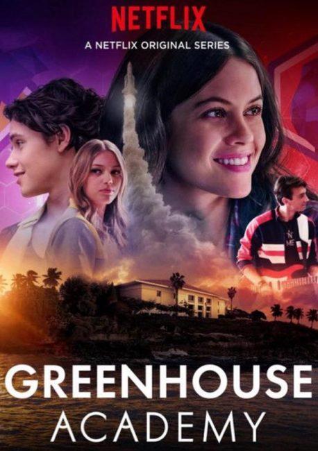 Cartel de Greenhouse Academy serie para ver en familia
