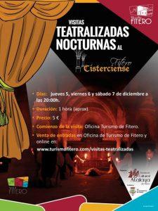 Visitas teatralizadas nocturnas en Fitero