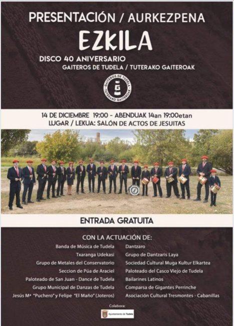 Presentación disco 42 aniversario de los Gaiteros de Tudela