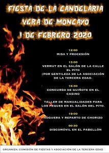 CANDELARIA VIRGEN DEL MONCAYO 2020