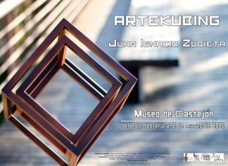 cartel artekubing en Castejón