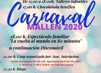 Carnaval 2020 en Mallén