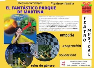 Cartel Parque de Martina Teatro Ribaforada
