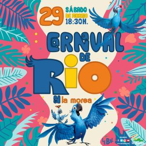Carnaval de Río en La Morea