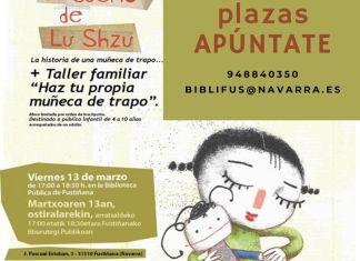 """Kamishibai """"El sueño de Lu Suzhu» y taller de muñeca de trapo en Fustiñana"""