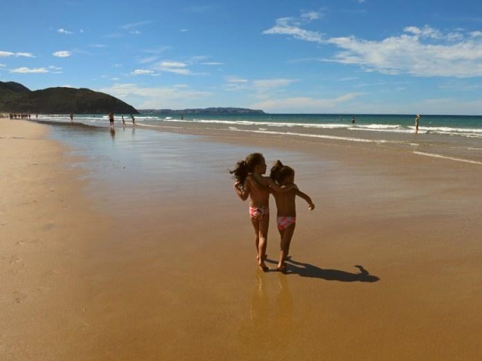 Cantabria en familia Playa Berria