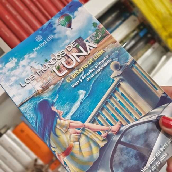 libros, adolescentes, Los mundos de Luna