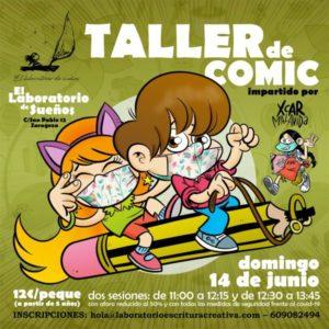 taller de cómic Zaragoza