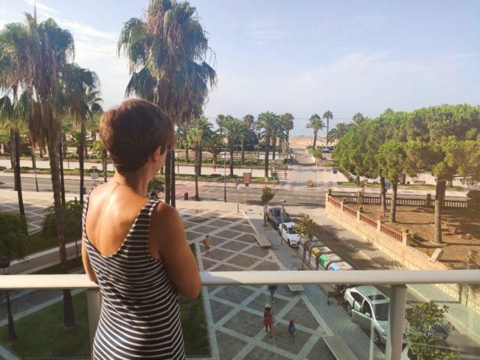 Blaumar Hotel vistas terraza