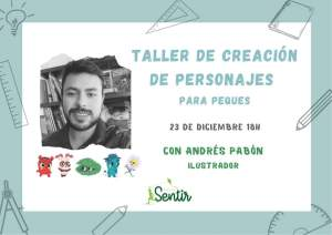 TALLER DE CREACIÓN DE PERSONAJES