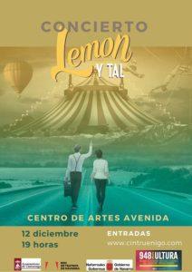 LEMON Y TAL EN CONCIERTO CINTRUÉNIGO