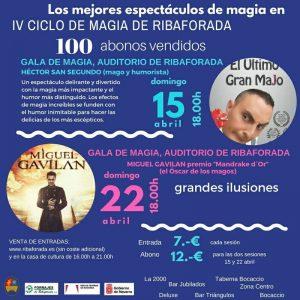 Ciclo de Magia en Ribaforada, abril 2018