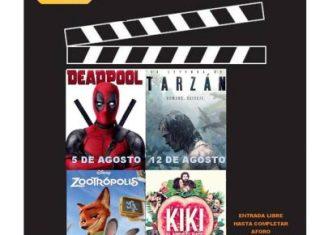 Cine, Tudela, niños