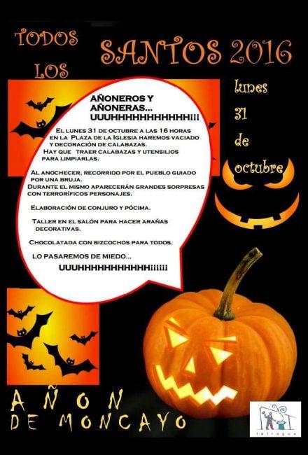 Halloween Añon de Moncayo