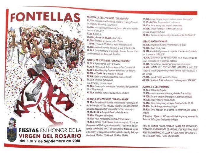 FIESTAS FONTELLAS 2018