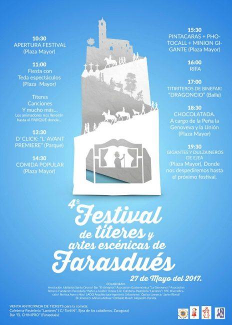 Farasdués, 4º Festival de títeres