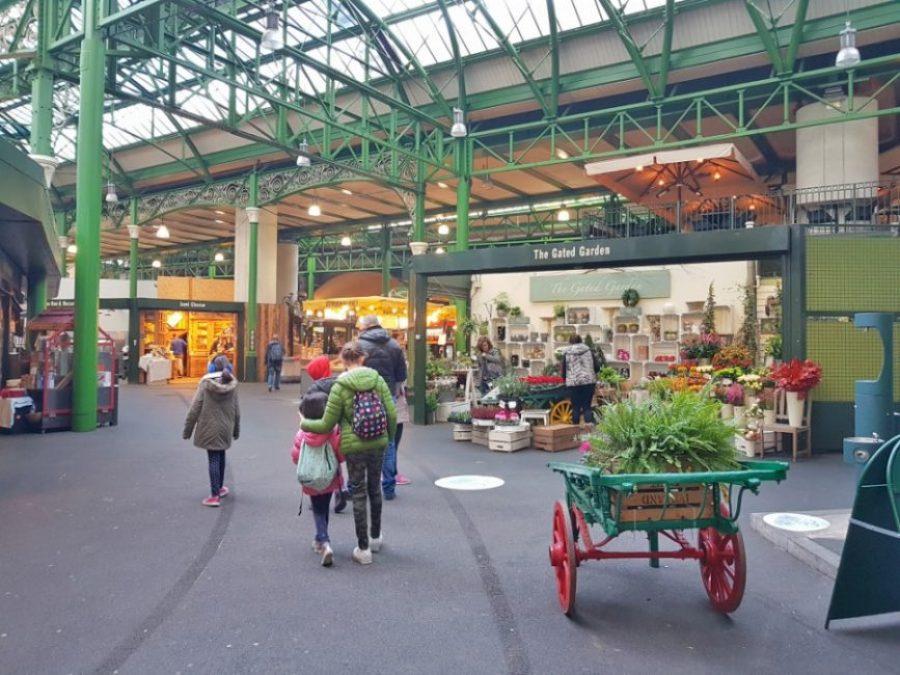 Borough Market en Londres con niños