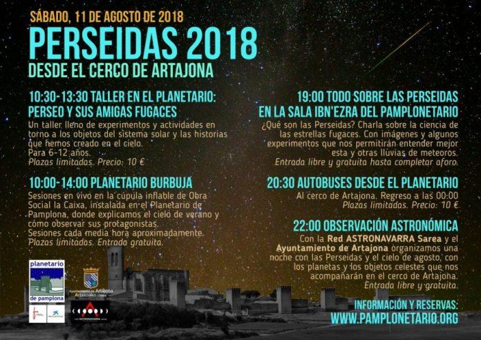 PERSEIDAS 2018 PLANETARIO PAMPLONA