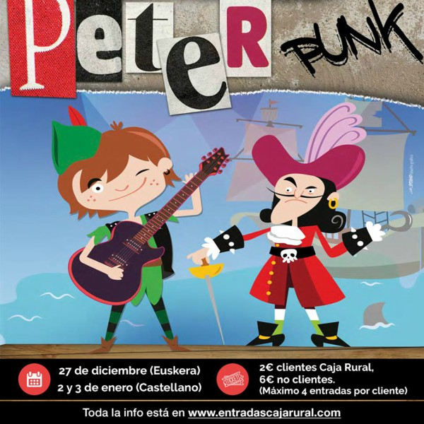 Peter Punk, Zentral, Pamplona
